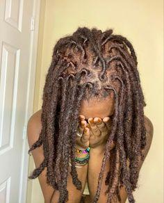 Dreadlock Hairstyles, Hairstyles Haircuts, Braided Hairstyles, Natural Hair Care, Natural Hair Styles, Jah Rastafari, Beautiful Dreadlocks, Black Hairstyle, Braids With Curls