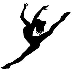 Jazz Dancing Silhouette Dancers Ideas For 2019 Dance Silhouette, Silhouette Tattoos, Silhouette Vector, Jazz Dance, Dance Recital, Dance Art, Dancing Clipart, Little Girl Dancing, Dance Images