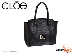 MONEYBACK MEXICO. This splendid bag from CLOE has a monochrome structure with metallic details incorporating discreet handles and a representative brand plate, made in synthetic leather with slight brightness that highlights its texture. Shop CLOE in Mexico and come to Moneyback for a tax refund for foreign tourists! #moneyback www.moneyback.mx