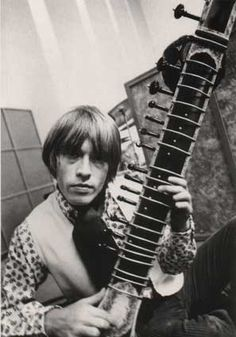 Founding member and guitarist of the Rolling Stones. Died from drowning in a pool one month after being kicked out of the band on July 3, 1969. #TheRollingStones #RollingStones