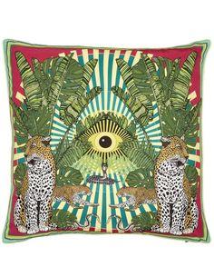Eye of the Leopard Cushion | Liberty London