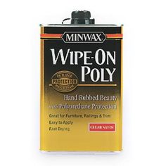 Wipe-on poly is best for carved, embossed, or profiled surfaces where a brush could leave drips. | thisoldhouse.com