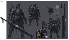 Knight, YongWei Sun on ArtStation at https://www.artstation.com/artwork/dlLr3