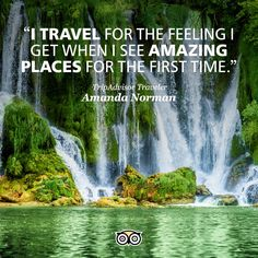 Tell us why YOU travel and we may feature your quote on a post just like this one!