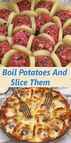 Meat Recipes, Crockpot Recipes, Cooking Recipes, Healthy Recipes, Hamburger Steak Recipes, Hamburger Dishes, Recipies, Turkey Recipes, Potato Recipes