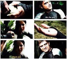 Peeta and Kattnis's love