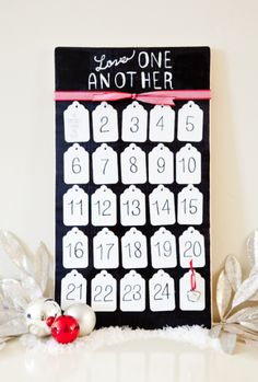 Service Advent Calendar - LOVE this idea! { lilluna.com }   I think this would be great just for a social awareness project for a class room.  You do good deeds as a class for a month and report back.