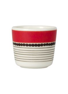 I have a small obsession with egg cups! I LOVE these :D -Marimekko´s Spring 2013: Siirtolapuutarha egg cup