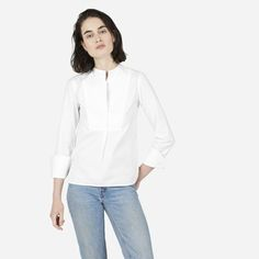 ddd51a99e46 The Japanese Oxford Bib Shirt - Everlane Sailor Pants