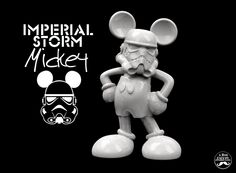 FREE 3D Printable - Print This Imperial Storm Mickey