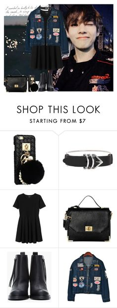 """""""Happy Birthday Taehyung ^^"""" by theycallmebeatriz ❤ liked on Polyvore featuring Alexander Wang, Monki, Vince Camuto, Acne Studios and Chicnova Fashion"""