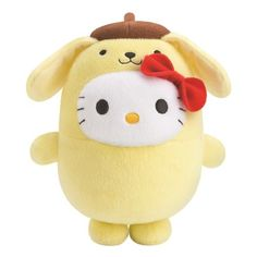 Bubbly Day Hello Kitty Pompompurin plush toy at McDonald's Hong Kong