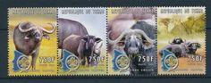 25716-Chad-2000-Wild-Animals-Buffalo-MNH