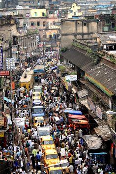CITY OF CROWD #kolkata #india