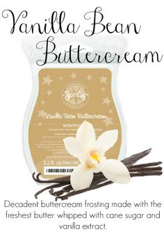 Vanilla Bean Buttercream - With each Scentsy bar you can mix and match and make your own favorite scent. Scentsy Fragrances flameless wax warmers are a great alternative to candles Scentsy Australia, Wax Warmers, Smell Good, Wax Melts, Scentsy Bar, Scentsy Fragrances, Perfect Sense, Vanilla Buttercream, Facebook