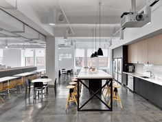 """Fullscreen, a global media startup that empowers popular YouTube channels and networks recently moved into a new office in New York City, designed by interior design firm Rapt Studio. """"For this ... Read More"""