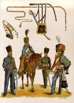 Les 6e et 8e Régiments de Hussards Belgo-Hollandais 1815-30