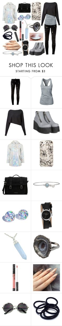 """Sabrina Landon"" by ashlynknight ❤ liked on Polyvore featuring Dsquared2, NIKE, Crea Concept, Topshop, Vera Bradley, Dr. Martens, Nixon, Kimberly McDonald, Issey Miyake and Kat Von D"