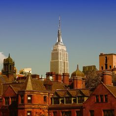 Empire State Building - pic taken from the High Line #highline #empirestatebuilding #newyork #newyorkcity #skyline #cityscape #city #america #travelphotography #exploringtheglobe #building #buildings #usa #northamerica