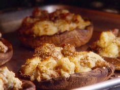 Grilled and Stuffed Portobello Mushrooms with Gorgonzola recipe from Giada De Laurentiis via Food Network