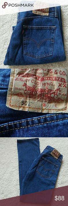 TODAY~LEVI'S 501 BUTTONFLY JEANS VINTAGE LEVI'S 501 BUTTONFLY JEANS VINTAGE  SIZE TAGGED: W30 L34 MEASURED: W28 L.  RISE:10 1/4 HIPS:37 BEAUTIFUL♡♡♡♡♡♡♡♡♡♡♡♡♡♡♡♡ Levi's Jeans