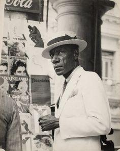 Walker Evans, Cuban man, 1933, Havana, Cuba