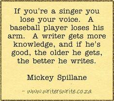 Quotable - Mickey Spillane