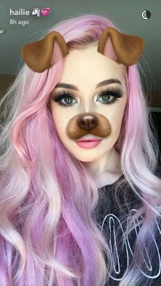 Colorful Hair Looks to Inspire Your Next Dye Job Hailie Barber, Pastel Pink Hair, Purple Hair, Beautiful Hair Color, Coloured Hair, Unicorn Hair, Dye My Hair, New Hair Colors, Rainbow Hair