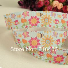"""Free shipping 1""""(25mm) 50 yards printed grosgrain ribbon $21 - OMG this is so stinking cute!!!"""
