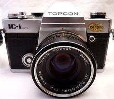 TOYKO KOGAKU TOPCON IC-1 35mm SLR Camera Kit Lens HI TOPCOR 1:2 f=50mm
