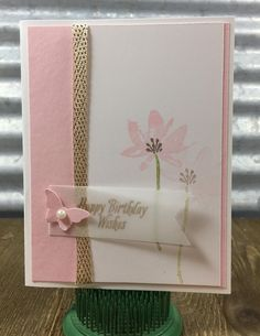 Hey everyone, These are four cards we made at my Sneak Peek event in December. They all use the Avant Garden stamp set from Sa...