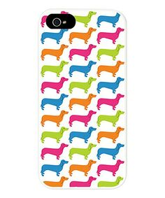 Look what I found on #zulily! Rainbow Dachshund Case for iPhone 5/5s #zulilyfinds