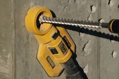 Drilling doesn't have to be dusty with the Dewalt DWH050K