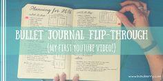 Full Bullet Journal flip-through on YouTube! :)
