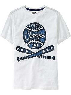Nice simple vintage style collegiate graphic at Old Navy