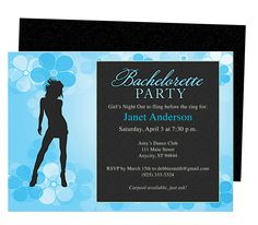 Printable DIY Bachelorette Party Invitations Template : Dancin Bachelorette Party Invitation Templates
