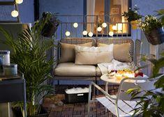 """8 trucos para crear y decorar """"tu pequeña terraza de verano"""" (El Armario de…"""