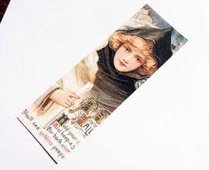 Halloween Bookmarks  Set Of 3  Edwardian Witch  Witch by SiriusFun