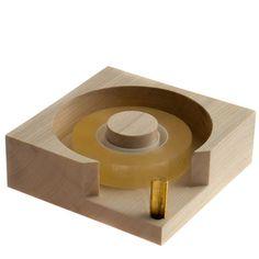 Maple Wood tape dispenser