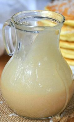 Homemade Coconut Syrup