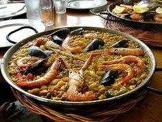 Paella & Sangría competition! Big fun for small and big groups!!