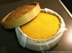 Mrs. Ip's Kitchen: Chinese Steamed Sponge Cake Recipe