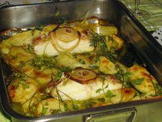 < Comidadeconforto >: Bacalhau assado no forno