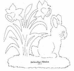 Lapin de Pâques .