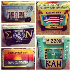 Painted cooler for sigma nu semi formal!