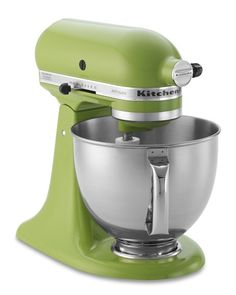 the Artisan Stand mixer. To save some cash, look for floor models from Williams-Sonoma when they change out their displays!