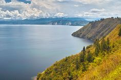 Lake Toba, Sumatra, Indonesia. It's a result of an eruption that was able to darken the earth for 6 years. www.sunnyindonesia.com.
