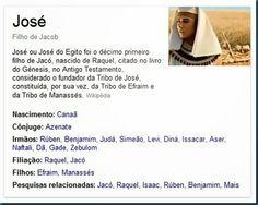 Ficha Técnica: História de José