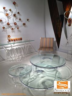 #Shahrooz new coffee table called Bubble introduced at the April furniture market North Carolina High Point  www.shahrooz-art.com