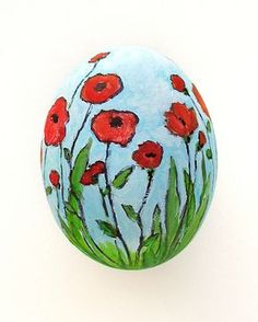 Sharpie and acrylic paint. Easter egg.